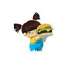 Baby Us: Burger Girl by PunchingPandas