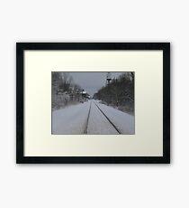 Snows view Framed Print
