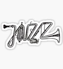 JAZZ Sticker