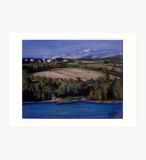 Along the St. Lawrence Art Print