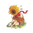 Death of a Sunflower Person by Sundevar