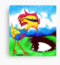Super Bird Canvas Print