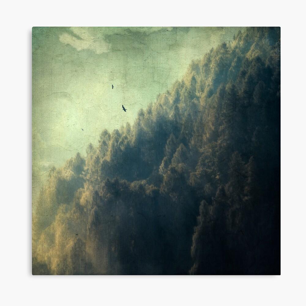 Tree Mountain Canvas Print