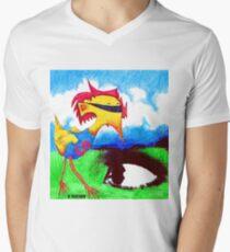 Super Bird Men's V-Neck T-Shirt