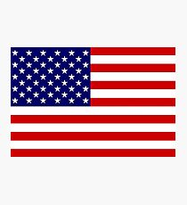 USA Flag Photographic Print