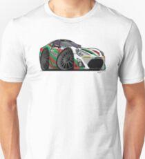 Toyota 86 Race Car Cartoon Unisex T-Shirt