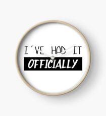 Officially I Clock