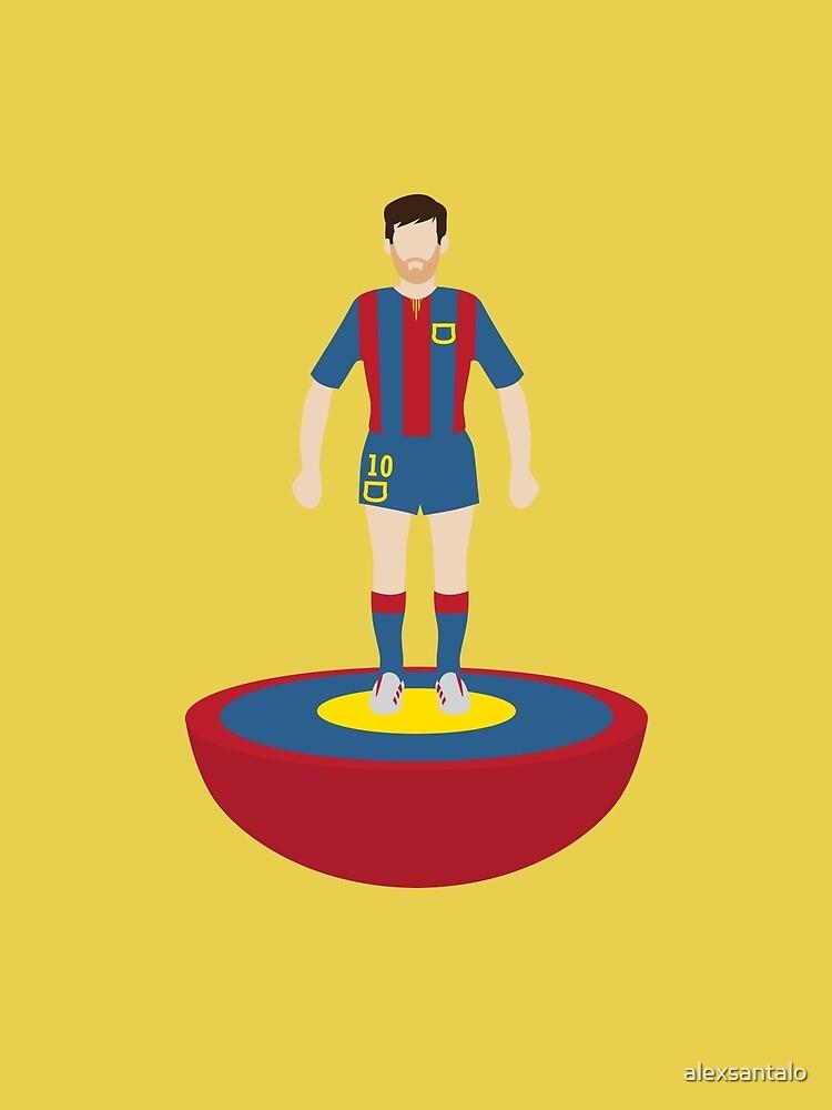 Messi subbuteo by alexsantalo