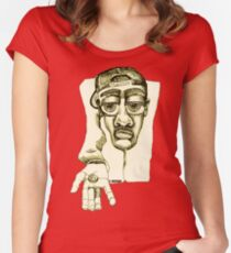 Please Women's Fitted Scoop T-Shirt