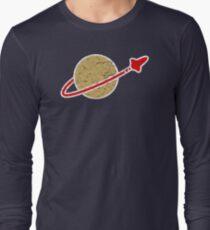 Retro  Lego Space Logo Long Sleeve T-Shirt