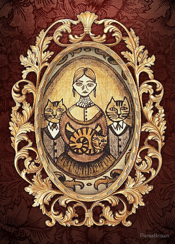 Victorian Cats by PaniaBrown