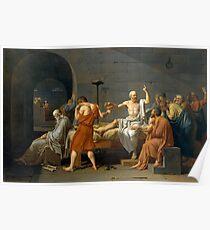 Der Tod von Sokrates Poster