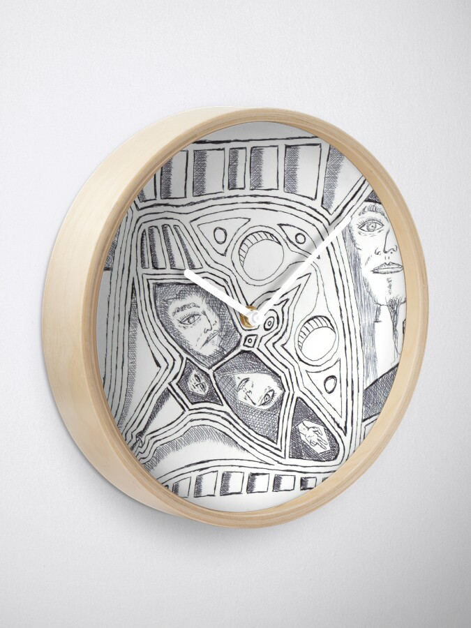 Vista alternativa de Reloj patrón