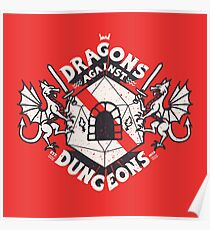 Dragons Against Dungeons Poster