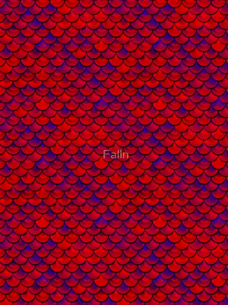 Red Purple Scales by Falln