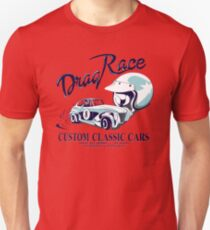 Vintage Custom Drag Race Unisex T-Shirt