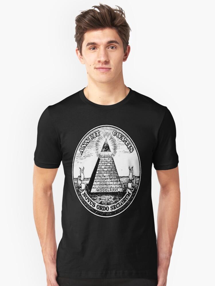 Illuminati  Unisex T-Shirt Front