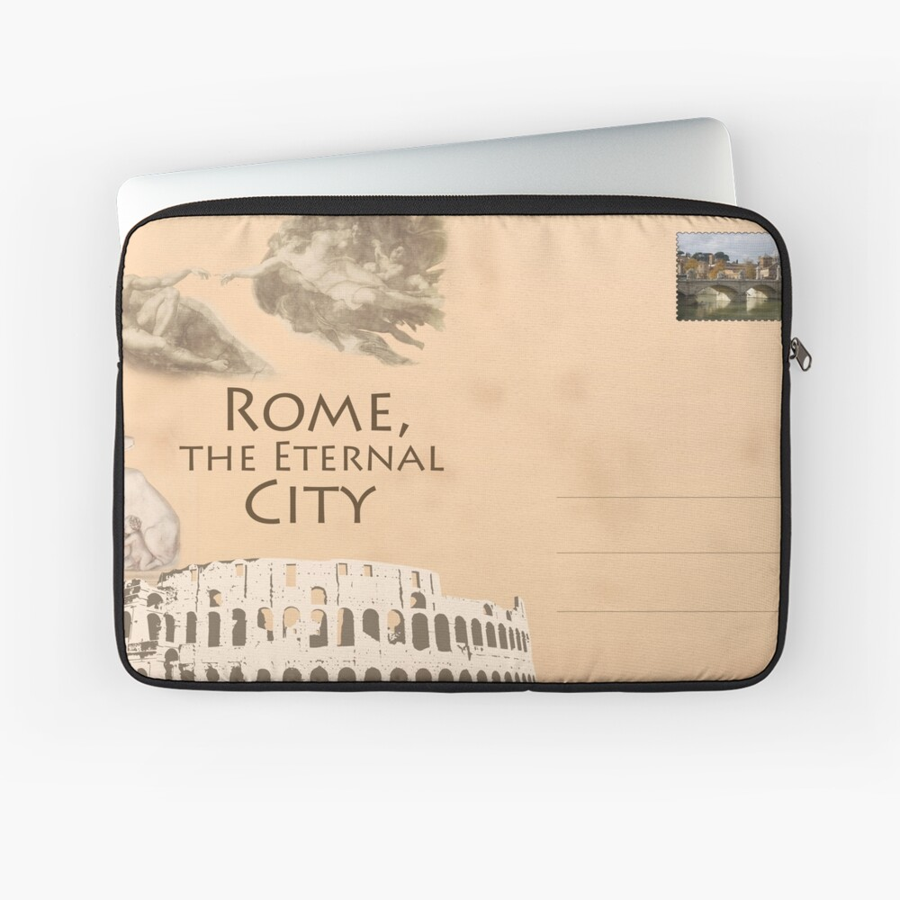 Rome Laptop Sleeve Front
