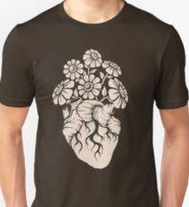 Blooming Heart Unisex T-Shirt