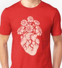 Blooming Heart Unisex T-Shirt