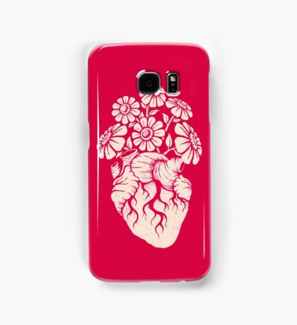 Blooming Heart Samsung Galaxy Case/Skin