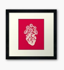 Blooming Heart Framed Print