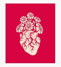 Blooming Heart Photographic Print