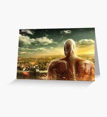 Attack on Titan - Wall Titan Greeting Card