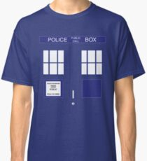 DOCTOR WHO Tardis Box Classic T-Shirt