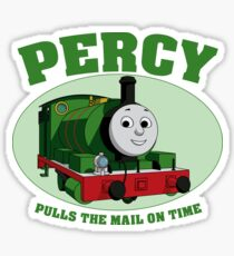 Percy - Pulls The Mail On Time Sticker