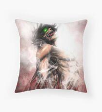 Attack on Titan - Eren Titan Throw Pillow