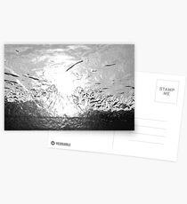 Silvery Sundown Postcards