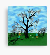 On the Nature of Passivity Canvas Print