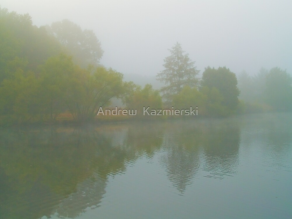 Morning Lake by andykazie