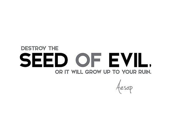 seed of evil - aesop by razvandrc