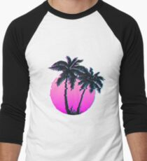 Miami Palm VHS Men's Baseball ¾ T-Shirt