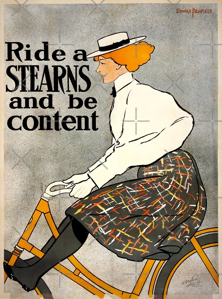 Vintage Bicycle Ad by shakmati
