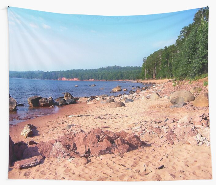 Summer Shores of Lake Superior by Phil Perkins