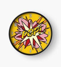 Comic Book Pop Art POP Superhero Clock