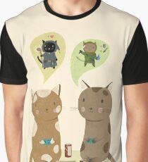 Geek Cats  Graphic T-Shirt