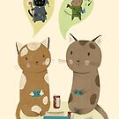 Geek Cats  by Judith Loske