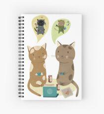 Geek Cats  Spiral Notebook