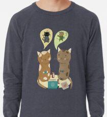 Geek Cats  Lightweight Sweatshirt