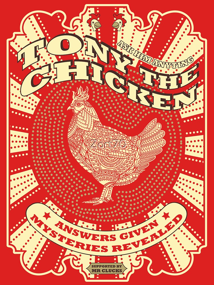 Tony The Chicken by Zort70