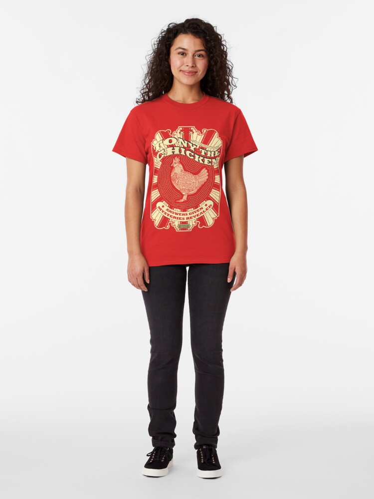 Alternate view of Tony The Chicken Classic T-Shirt