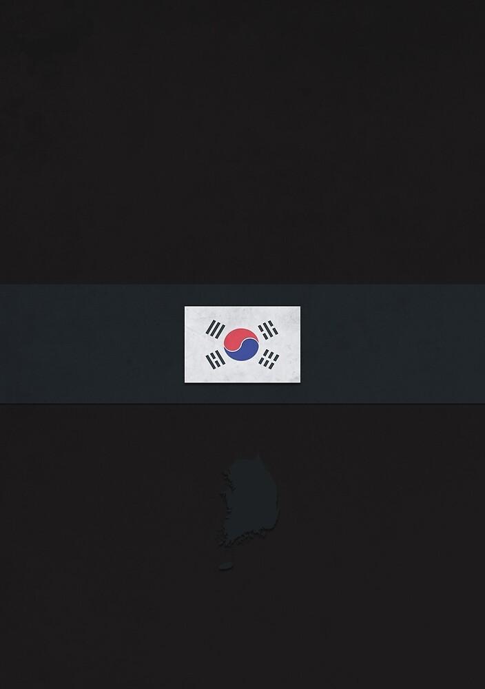 South Korea by FlatFlags