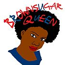 BrownSugar Queen Natural Hair AfroTshirt by EllenDaisyShop