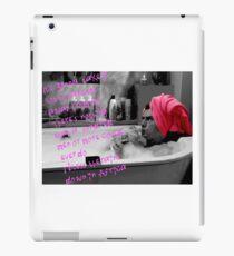 Scrubs - JD in the bath iPad Case/Skin