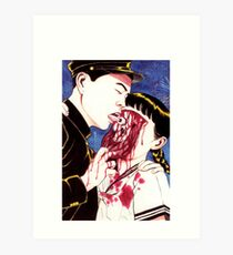 Suehiro Maruo Eye licking Art Print