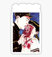 Suehiro Maruo Eye licking Sticker